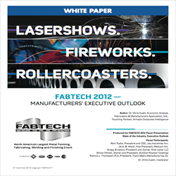 Fabtech 2012: Manufacturing Outlook 2012
