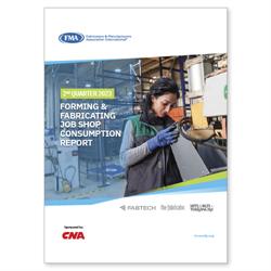 Forming & Fabricating Job Shop Consumption Report 2nd Qtr. 2020