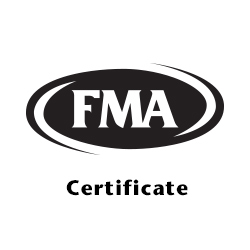 Precision Press Brake Certificate - Fabricators